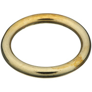 National Hardware N258-707 Solid Brass Ring 1 Inch Inside Diameter