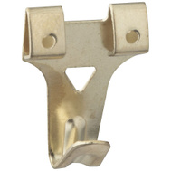 National Hardware N260-158 Super Hangers 50 Pound Rated Brass Finish Steel 4 Pack