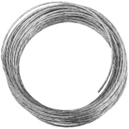 National Hardware N260-307 Light-Duty Braided Wire #2 By 25 Foot Galvanized Steel