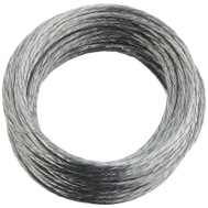 National Hardware N260-315 Medium-Duty Braided Wire Galvanized No 3 By 25 Feet