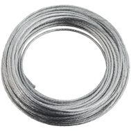 National Hardware N260-323 Heavy-Duty Braided Wire #4 By 25 Foot Galvanized Steel