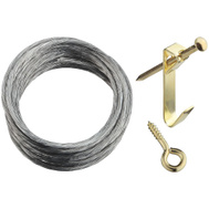 National Hardware N260-398 Heavy-Duty 50 Pound Single Picture Hanging Kit