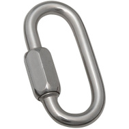 National Hardware N262-493 1/4 Inch Stainless Steel Quick Link Bulk