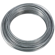 National Hardware N264-770 Craft And Project Wire 19 Gauge By 50 Feet Galvanized Steel Wire