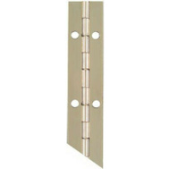 National Hardware N265-371 Continuous Hinge 1-1/16 By 12 Inch Nickel Plated Steel