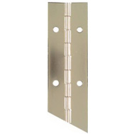 National Hardware N265-389 Continuous Hinge 1-1/2 By 12 Inch Nickel Plated Steel
