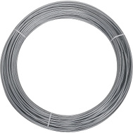 National Hardware N266-973 Craft And Project Wire 12 Gauge By 100 Feet Galvanized Steel Wire