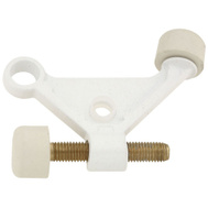 National Hardware N269-886 N248-401 Textured Hinge Pin Door Stop White