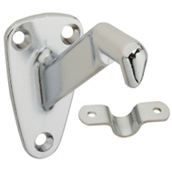 National Hardware N274-258 Heavy Duty Handrail Bracket Satin Chrome