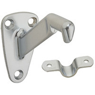 National Hardware N274-274 Heavy Duty Handrail Bracket Satin Chrome
