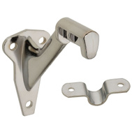 National Hardware N274-282 Traditional Heavy Die Cast Handrail Bracket Polished Chrome