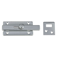 National Hardware N274-340 Slide Bolt 3 Inch Chrome