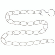 National Hardware N275-073 Plant Extender Chain Kit 36 Inch White