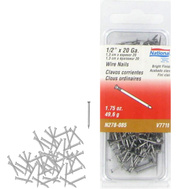 National Hardware N278-085 Wire Nails 20 Gauge 1/2 Inch Bright Finish