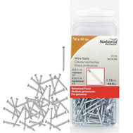 National Hardware N278-309 Wire Nails 17 Gauge By 7/8 Inch Galvanized Finish