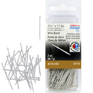 National Hardware N278-663 Stainless Steel Wire Brads 17 Gauge By 1-1/4 Inch