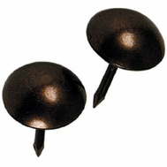 National Hardware N279-166 Round Head Upholstery Nails Bronze 25 Pack