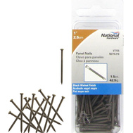National Hardware N279-216 Panel Nails 1 Inch Black Walnut