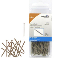National Hardware N279-257 Panel Nails 1 Inch Dark Oak