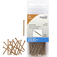 National Hardware N279-265 Panel Nails 1-5/8 Inch Dark Oak