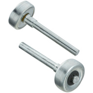 National Hardware N280-008 1-1/4 Inch Frantz Garage Door Rollers 3-1/2 Inch Stem 5/16 Inch Shaft 2 Pack