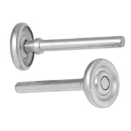 National Hardware N280-016 Standard 1-7/8 Inch Garage Door Steel Rollers 4-3/8 Inch Stem 7/16 Inch Shaft 2 Pack