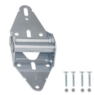 National Hardware N280-172 Garage Door #2 Joint Hinge 7-3/8 Inch 14 Gauge With Carriage Bolts Galvanized