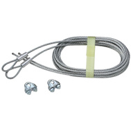 National Hardware N280-362 Torsion Spring Lift Cables 104 Inch By 1/8 Inch Galvanized 2 Pack