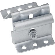 National Hardware S730-810 N280-495 Stanley Garage Door Adjustable Top Roller Bracket 2-1/2 Inch Wide Galvanized