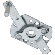 National Hardware N280-701 S730-940 Swivel Lock Handle 5/16 Inch Square Shaft Zinc Plated Steel