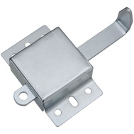 National Hardware N280-727 5-1/2 Inch Zinc Garage Door Side Lock