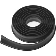 National Hardware N281-279 Garage Door Bottom Weather-Stripping Vinyl Black 10 Feet