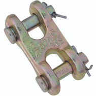 National Hardware N282-129 Double Clevis Link 1/4 And 5/16 Inch Yellow Chromate Forged Steel