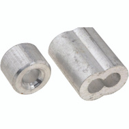 National Hardware N283-895 Ferrules And Stops Aluminum 5/32 Inch 2 Pack