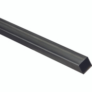 National Hardware N301-101 Weldable Square Tubing 1 Inch By 72 Inch Hot Rolled Plain Steel