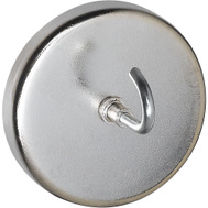 National Hardware N302-216 Magnetic Hook Nickel Plated