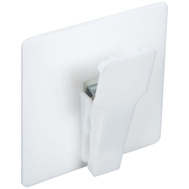 National Hardware N308-262 White Spring Clips Self Adhesive 2 Pack