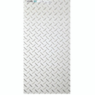 National Hardware N316-349 Diamond Plate 0.063 Thick 24 Inch By 12 Inch Polished Aluminum