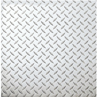 National Hardware N316-356 Diamond Plate 0.063 Thick 24 Inch By 24 Inch Polished Aluminum