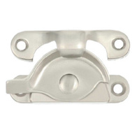 National Hardware N325-381 Crescent Sash Lock Satin Nickel