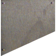 National Hardware N325-407 6 By 30 Inch Aluminum Door Kick Plate Satin Nickel