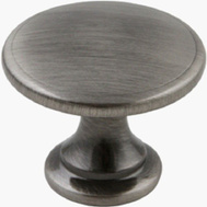National Hardware N325-829 Bi-Fold Folding Door And Cabinet Knob 1-3/4 Inch Zinc Die Cast Pewter