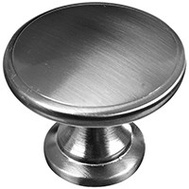 National Hardware N325-837 1-3/4 Inch Door Knob Cabinet Pull Satin Nickel