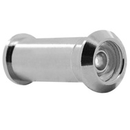 National Hardware N328-443 Door Viewer 160 Degree Solid Brass Polished Chrome