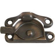 National Hardware N335-406 Crescent Sash Lock Antique Bronze