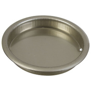 National Hardware N335-737 Recessed Round Cup Pull 2-1/8 Inch Satin Nickel 1 Pack
