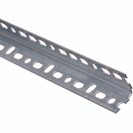 National Hardware N341-156 Slotted Angle 0.047 Thick 1-1/4 By 72 Inch Galvanized Steel