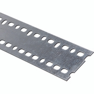 National Hardware N341-206 Slotted Strapping 0.074 Thick 48 Inch By 2-13/16 Inch Galvanized Steel
