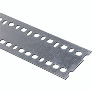 National Hardware N341-214 Slotted Strapping 0.074 Thick 60 Inch By 2-13/16 Inch Galvanized Steel