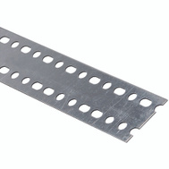 National Hardware N341-230 Slotted Strapping 0.047 Thick 36 Inch By 2-3/8 Inch Galvanized Steel